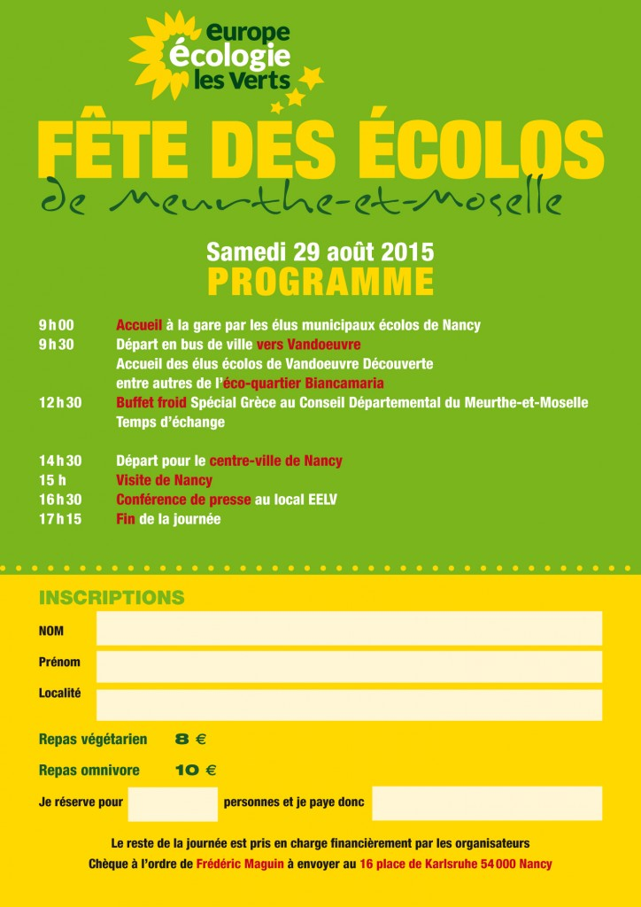 invitation écolos 2015